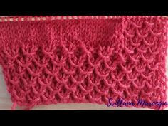 Knitting Patterns, Tulle, Blanket, Crochet, Stitch, How To Make, Youtube, Anna, Pullover
