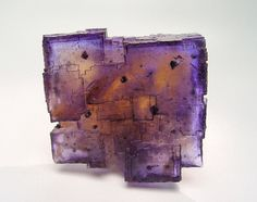 Fluorite with Chalcopyrite inclusions - Illinois
