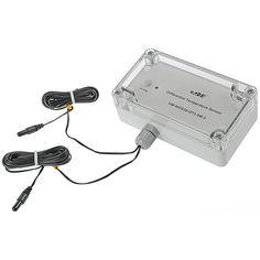 Der HomeMatic Differenz-Temperatur-Sensor (HM-WDS30-OT2-SM-2) sorgt für ein gutes Klima, indem Temperaturunterschiede gemessen und erkannt werden.