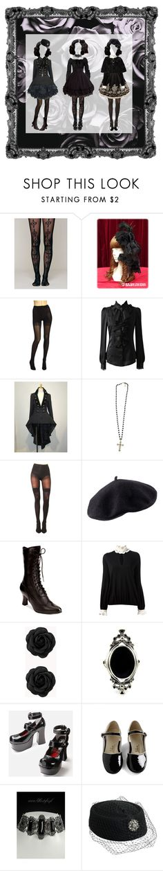 """""""Ladies"""" by kevlartunga ❤ liked on Polyvore featuring Free People, Wolford, Forever 21, Pretty Polly, H&M, Alexander McQueen and vintage"""