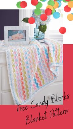 Crochet Blanket Edging, Afghan Crochet Patterns, Baby Shower Gifts, Baby Gifts, Granny Squares, Baby Blankets, Crochet Baby, Crochet Projects, Loom