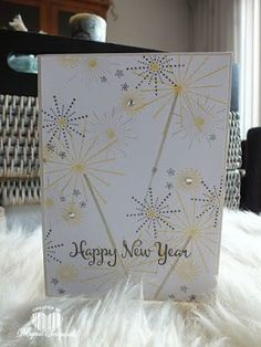 Magical Scrapworld, Happy new year, cards, It's a celebration,  new year, Stampin' Up!,