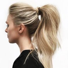 3. Super High Ponytail | Easy Before School Hairstyles For Chic Students