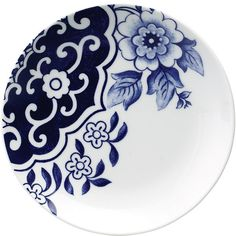 Loveramics Willow Love Story Side Plate ($5.97) ❤ liked on Polyvore featuring home, kitchen & dining, dinnerware, white, white plates and white dinnerware