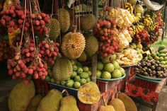 The fruit of Bali is worthy of obsession ~ I fell in love with the mangosteen & rambutan (still working on the durian)