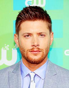 Jensen Ackles GINGER BEARD!!!