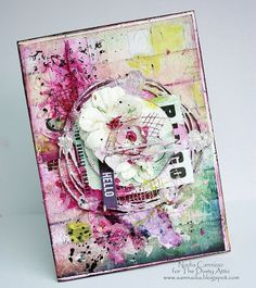 The Dusty Attic Blog: HELLO AND TOGETHER - Cards - Nadia Cannizzo