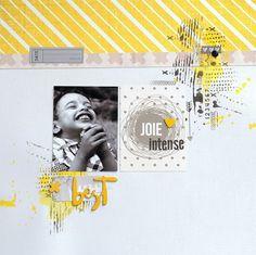 """Le scrap d 'Opsite: Un sketch, en """"Entre les lignes"""" de Karine Cazenave Tapie, pour Inspiration Création"""