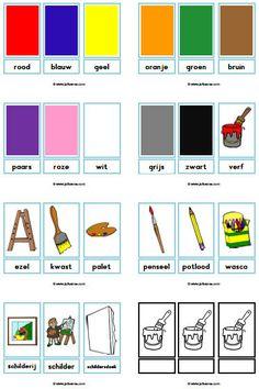 Nieuw thema: kleuren » Juf Sanne