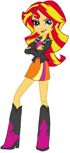 My Little Pony Equestria Girls Sunset Shimmer Party Cosplay Hair Wig custom-made My Little Pony Equestria, Mlp My Little Pony, Equestria Girls, Mlp Twilight, Twilight Sparkle, Crystal Ponies, Cosplay Hair, Sketch Inspiration, Rainbow Dash