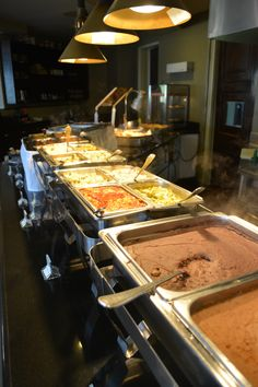 A variety of international and mexican dishes at the Buffet de BC Bistro & Cava | Hotel Coral & Marina | Ensenada, Baja California | http://www.hotelcoral.com/default-en.html