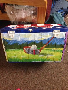 Fraternity Cooler Golf