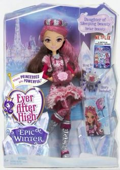 Ever After High Epic Winter Briar Beauty doll. Credit: Ever After High dolls on Facebook