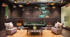 Get Inspired By The Incredible Spotify New York Office Design Office Interior Design, Office Interiors, Interior Design Inspiration, Design Ideas, Design Projects, Design Trends, Interior Livingroom, Design Firms, Modern Interior