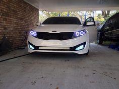 Kia optima headlights