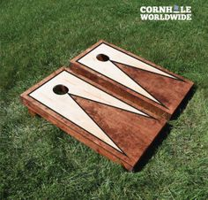 Sained Premium Triangle Border Cornhole Boards