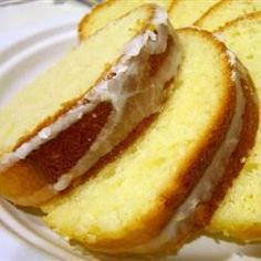 Country Pound Cake- just made this awesome cake.  It was so good with strawberries and a little whipped cream!