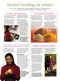 Herbal healing in Winter