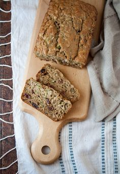 just made this zucchini oatmeal bread- delicious!