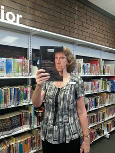 Book face fun in the library! - Inventing the Individual: The Origins of Western Liberalism by Larry Siedentop.
