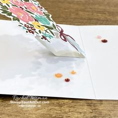 Online Paper, Free Stencils, Fun Fold Cards, Close Up Photos, Coordinating Colors, Paper Pumpkin, Stampin Up, Projects, Project Ideas