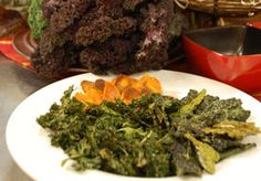 Easy, addictive appetizer! Recipe and how-to video: Kale Chips | PCC Natural Markets #appetizers #snacks