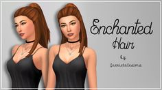 Enchanted Hair So… I actually managed to create something that isn't a total mess?!! I never thought I'd ever be able to release more than recolours, yet here we are with my first frankenmesh! A huge...