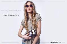 Hallo Ihr Lieben,   jetzt die aktuelle Spring / Summer Campaign entdecken auf:  http://www.mondelli-boutique.com/collection.html  Wir wünschen Euch viel Spaß!