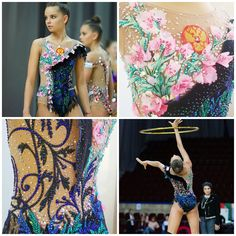 Rhythmic gymnastics leotard (photos by Dmitry Kornev)