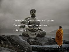 Do not depend on others #confidence #buddha #salvation
