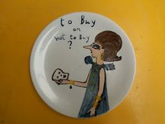 A real feast for the eyes (i want to buy them all!), those amazing plates come from a complete 35 piece crockery set that Konstantinos . Crockery Set, Art Photography, Decorative Plates, Comics, Fine Art Photography, Cartoons, Comic, Artistic Photography, Comics And Cartoons