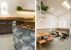 What do you get when you combine authentic Belgian waffles with coffee? The answer is Waffee, a Melbourne-based coffee and waffle café with an aroma too good to pass up. Designed by Foolscap Studio, Waffee features Earth honed to complement the cafe's natural palette.