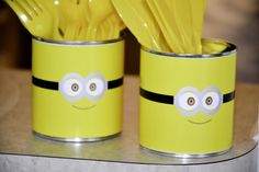 Festa Minions...idéia simples e criativa