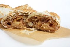 Apple-Ginger Phyllo Turnovers