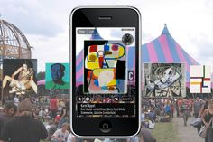 Augmented reality Lowlands