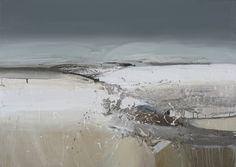 Chris Bushe RSW Midwinter, Strathdon oil on canvas