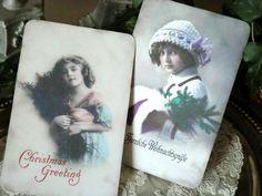 Karten-Weihnachten No 3 von Kissenträume auf DaWanda.com