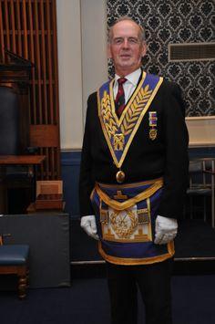 W. Bro. Andrew Barrett PJGD, Worshipful Master 2008
