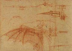 Leonardo da Vinci   Design for a Flying Machine, c. 1505