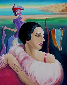 #Schiaparelli #Shocking #Pink #Inspiration #Fashion #Dali #Designer #Icon