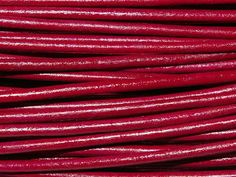 Greek Leather Cord 1.5mm - Dark Rose from Nosek's Just Gems