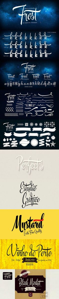 Frost Font Family