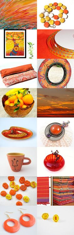 Colors of fall by Justine on Etsy--Pinned with TreasuryPin.com