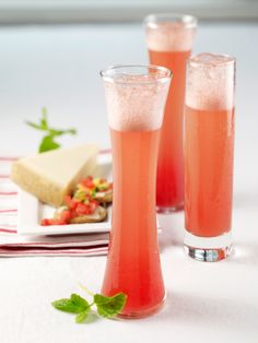 Watermelon mimosa-- perfect for summer!