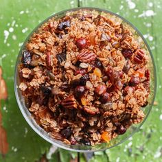 Granola, Cooking Cake, Acai Bowl, Healthy Lifestyle, Recipies, Food And Drink, Sweets, Breakfast, Kitchen