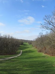 Waveland Golf Course in Des Moines, Iowa, the oldest municipal golf course west of the Mississippi! (this is my 'hood)