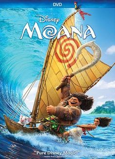Moana (DVD) (Enhanced Widescreen for 16x9 TV) (English/French/Spanish) 2016 - Larger Front