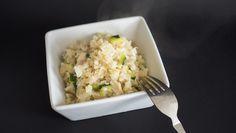 Blumenkohl Risotto mit Pilzen und Zucchini ➤ Eine leckere low-carb Alternative…