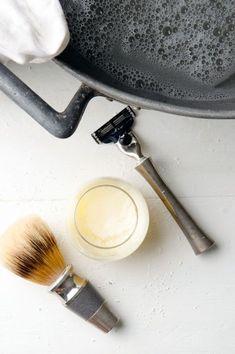 Homemade Shaving Cream for men   Blah Blah Magazine
