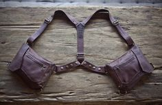 Holster-Bag for man. by PlumeAngel on Etsy Waist Pouch, Belt Pouch, Pouch Bag, Diy Bags Patterns, Leather Suspenders, Leather Holster, Hip Bag, Leather Working, Body Bag